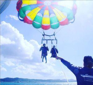 parasailing with caribbean sea adventures