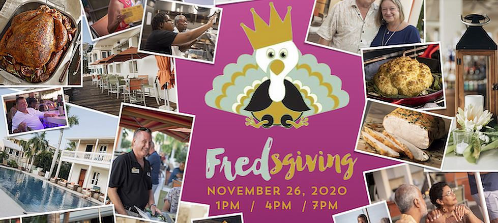 fredsgiving thanksgiving dinner at fred